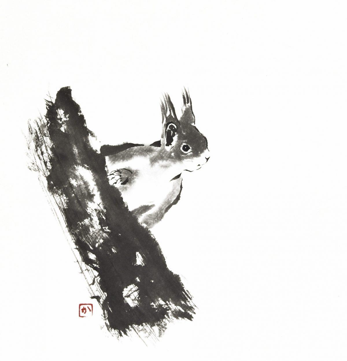 Eekhoorn (26x26 cm)